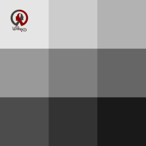 طیف رنگ خاکستری