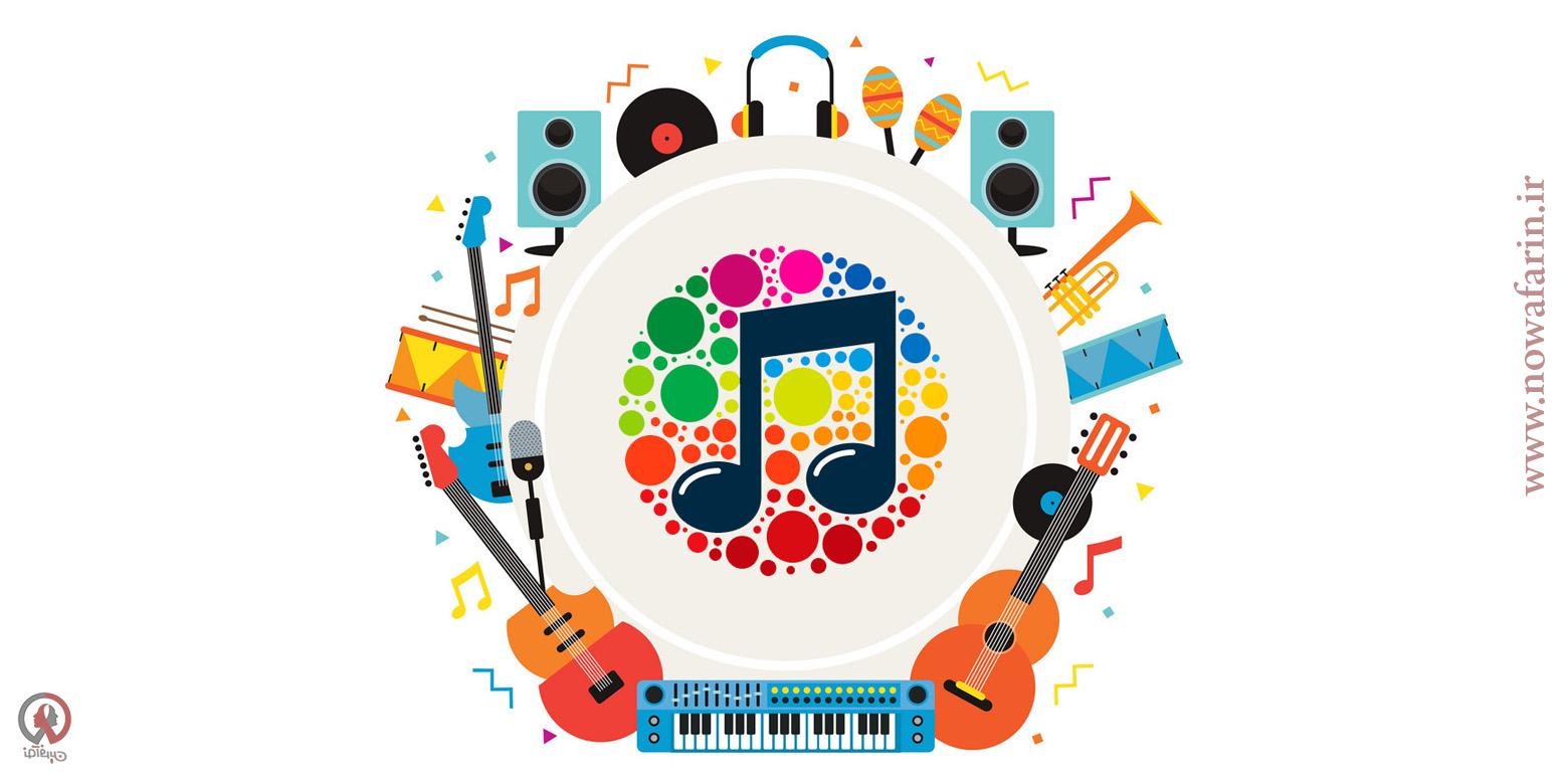 تاثیر موسیقی در هویت بصری