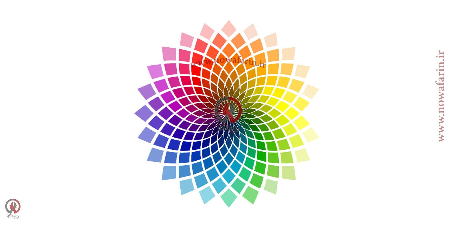 تاثیر رنگ ها در طراحی هویت بصری